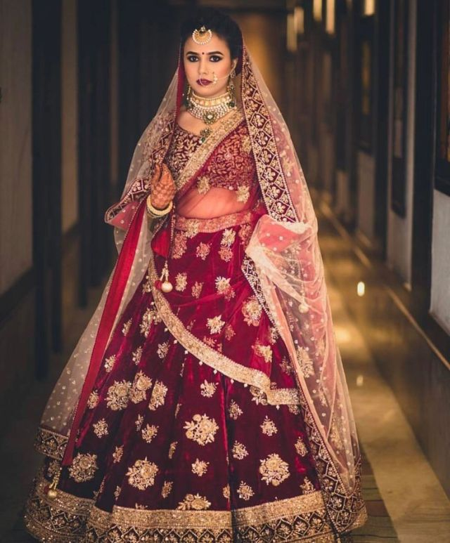 bridal lehenga colour