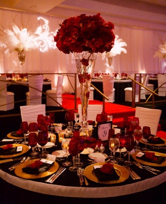 Red Wedding Decoration Ideas Match Your Overall Theme