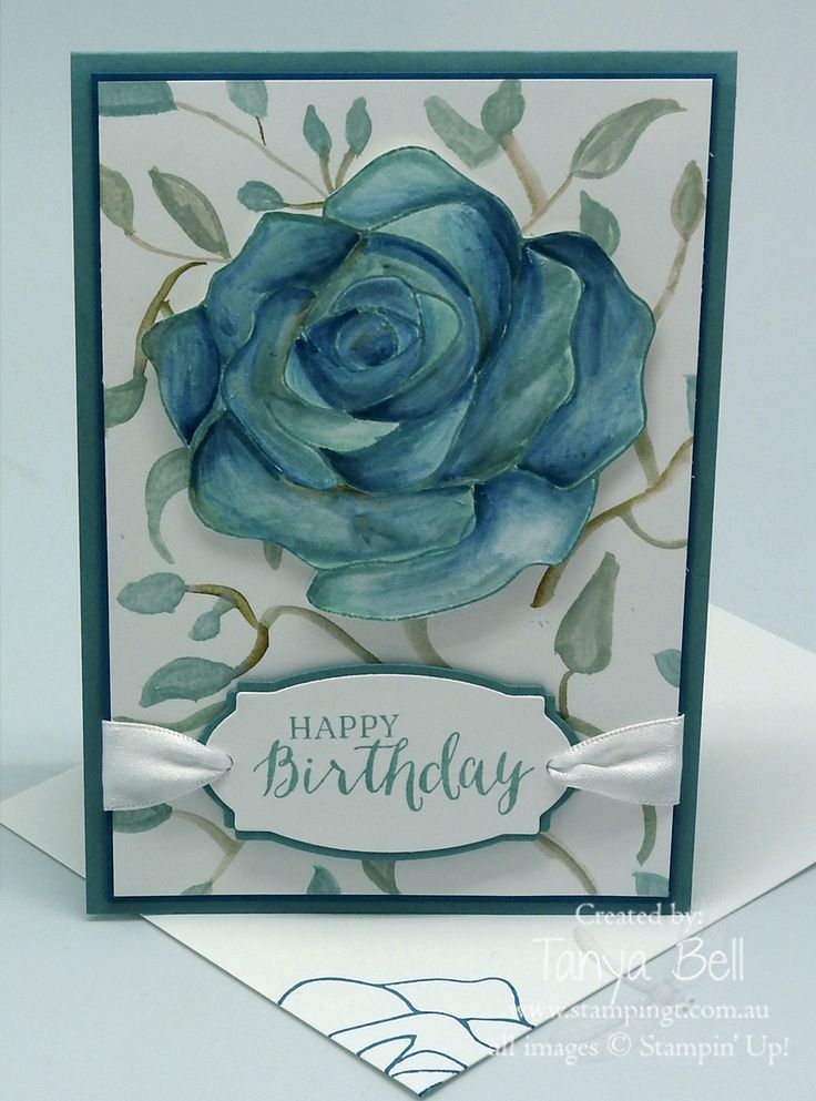 Stampin Up Stamping T Rose Wonder Birthday 2016
