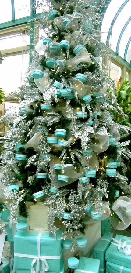 Tiffany Christmas Tree Christmas Decorating Ideas
