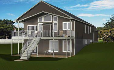 House Plan 2014825 Daylight Basement Bungalow By