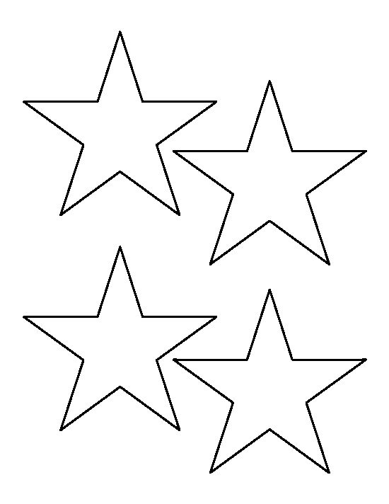 It's just a picture of Printable Stars Shapes intended for vector