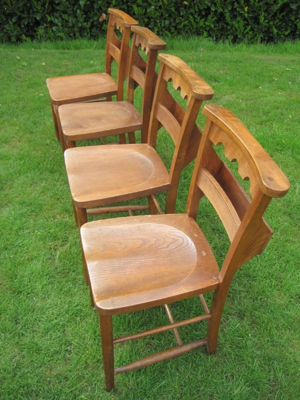£65 Reclaimed Antique Victorian Church Chairs,church,used