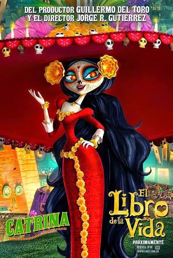 The Book of Life Character Poster 1 Full movies