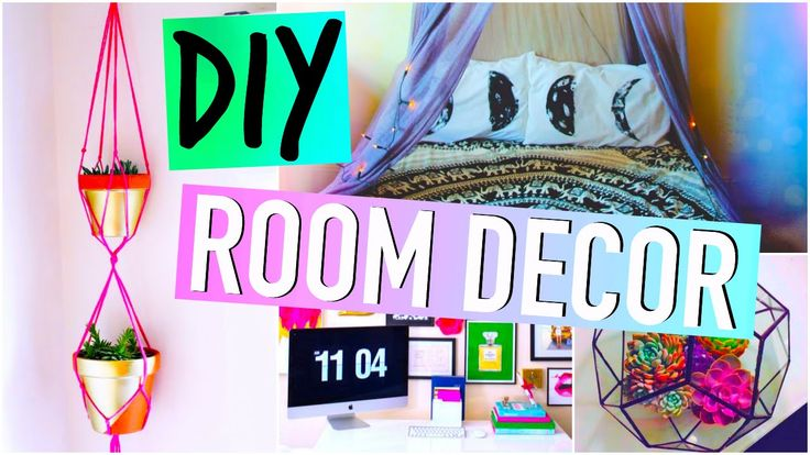 DIY Room Decor! :) #diy #diyprojects #diyroomdecor Room
