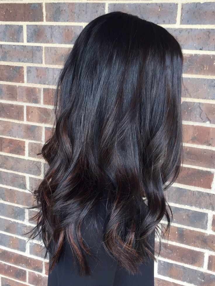 Best 25 Black Hair With Highlights Ideas On Pinterest