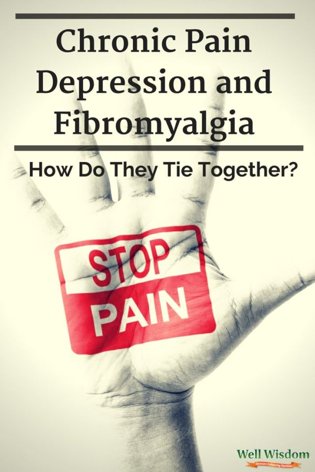Chronic pain, depression, and fibromyalgia are all chronic disorders, and they can serious hamper your lifestyle if you're not on top of them. But did you know that the three are all linked?: