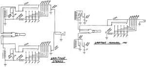 Schematics: Varitone Circuits, pre1974   Vintage Guitars   Pinterest