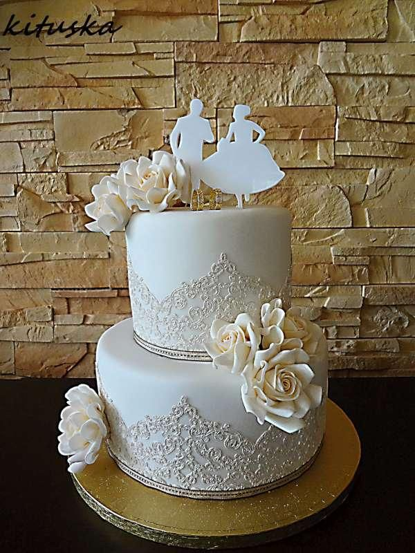 17 Best Images About Svadobn Torty Wedding Cakes On