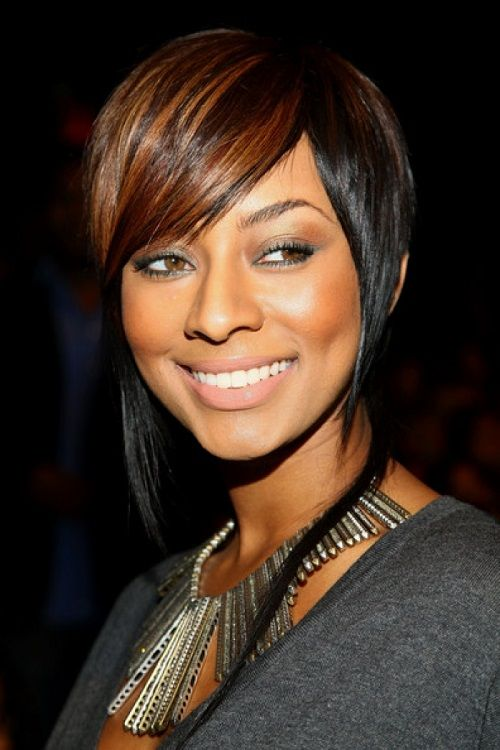 Short Ombre Hair with Bangs