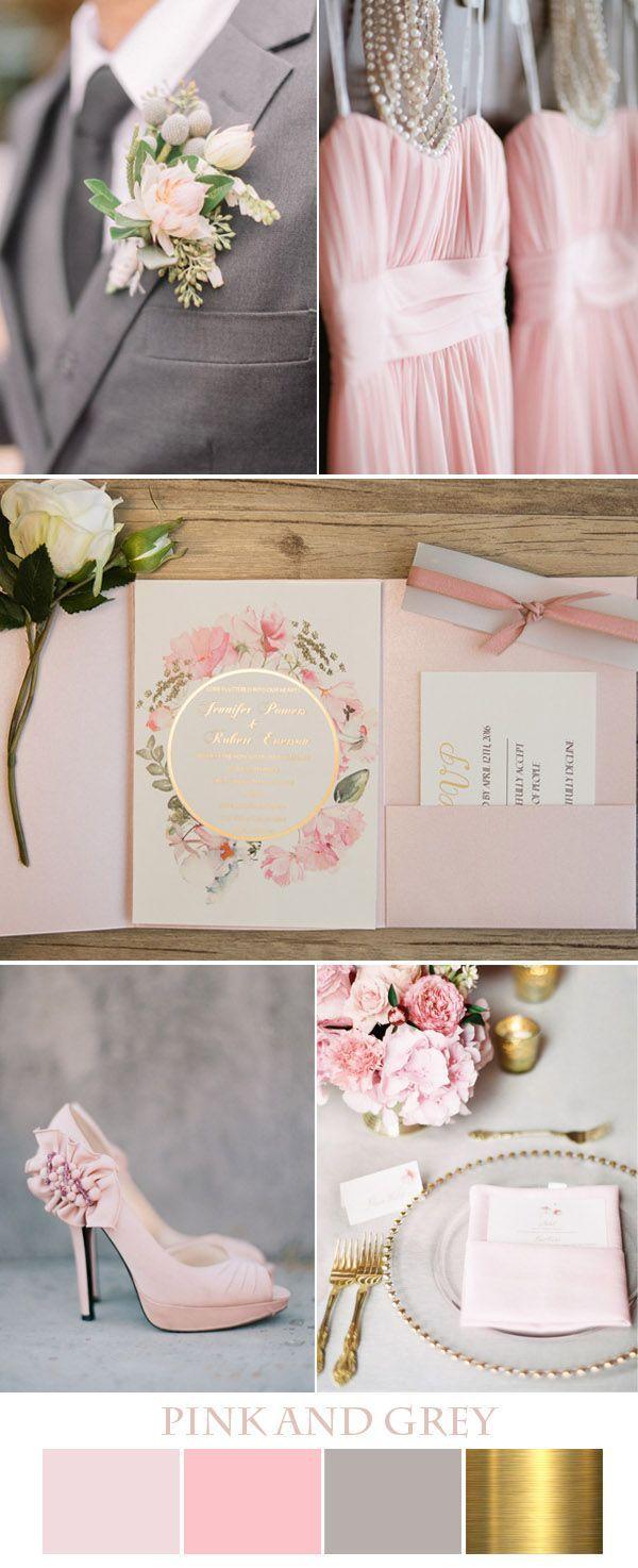 Pink And Grey Wedding Theme Ideas Invitationsjdi