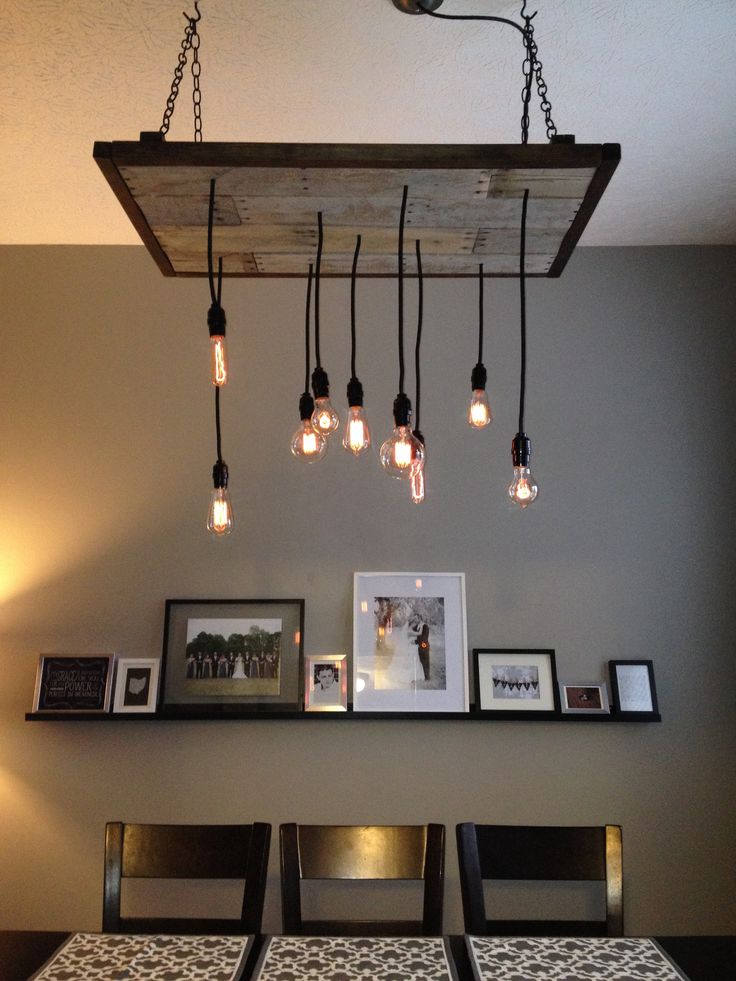 DIY Rustic Industrial Chandelier For The Home Pinterest Shape The Ojays And Industrial