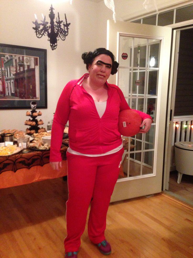 Fran From Dodgeball Unique Halloween Costumes Pinterest