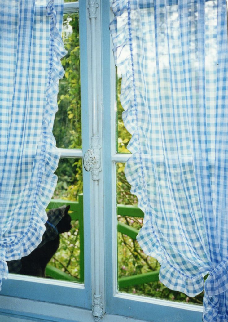 25 Best Ideas About Gingham Curtains On Pinterest