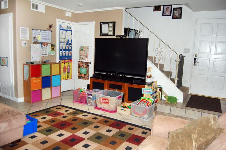 Small Space Home Daycare Setup In Living Room Novocom Top