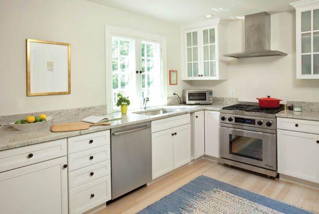 L Shaped Open Plan Kitchen