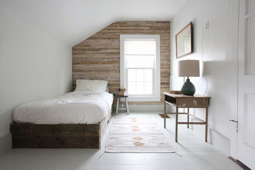 Love This Wooden Feature Wall. Looks Great Around The
