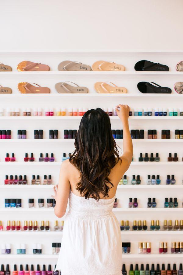A Peek Inside The Prettiest Nail Salon Youve Ever Seen