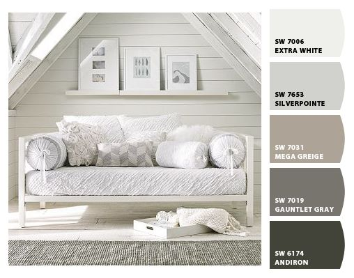 Paint Colors By Sherwin Williams Sw Extra White Sw