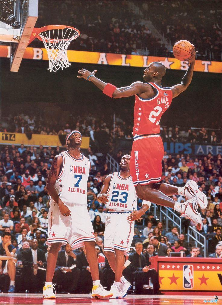 Kevin Jermaine O'Neal Michael Jordan NBA AllStar