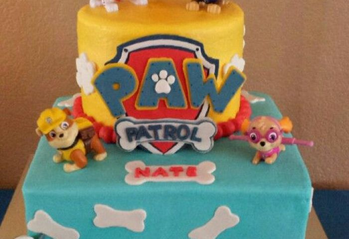 How To Make A Rubble Birthday Cake