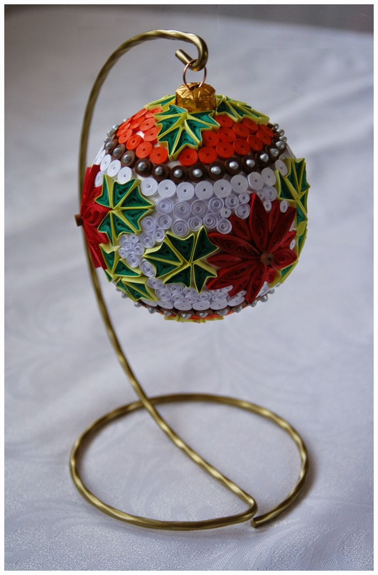 401 Best Images About Quilling Christmas On Pinterest