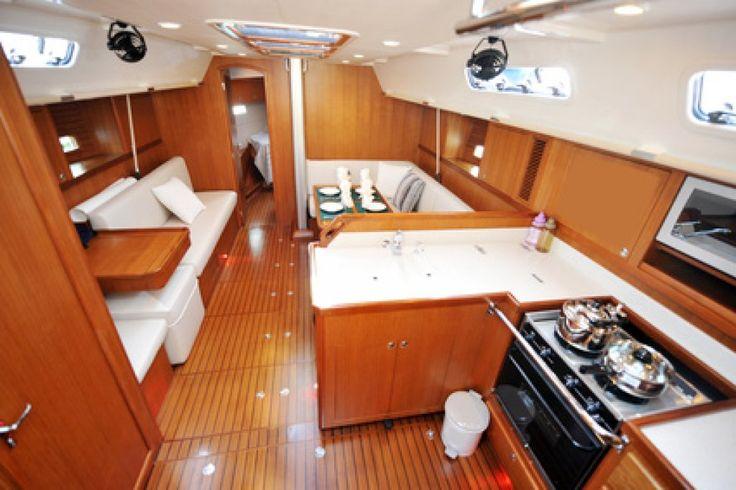 Boat Interior - Kitchen Design