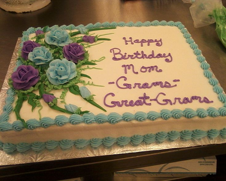 1000 Images About Buttercream Rose Sheet Cakes On