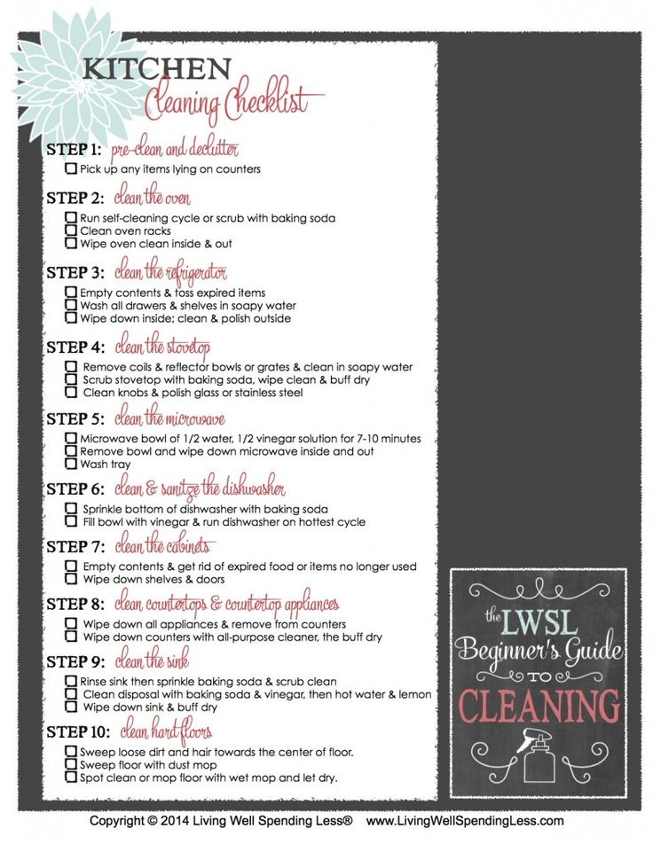 Beginners Guide To Cleaning Part 4 How To Clean Your