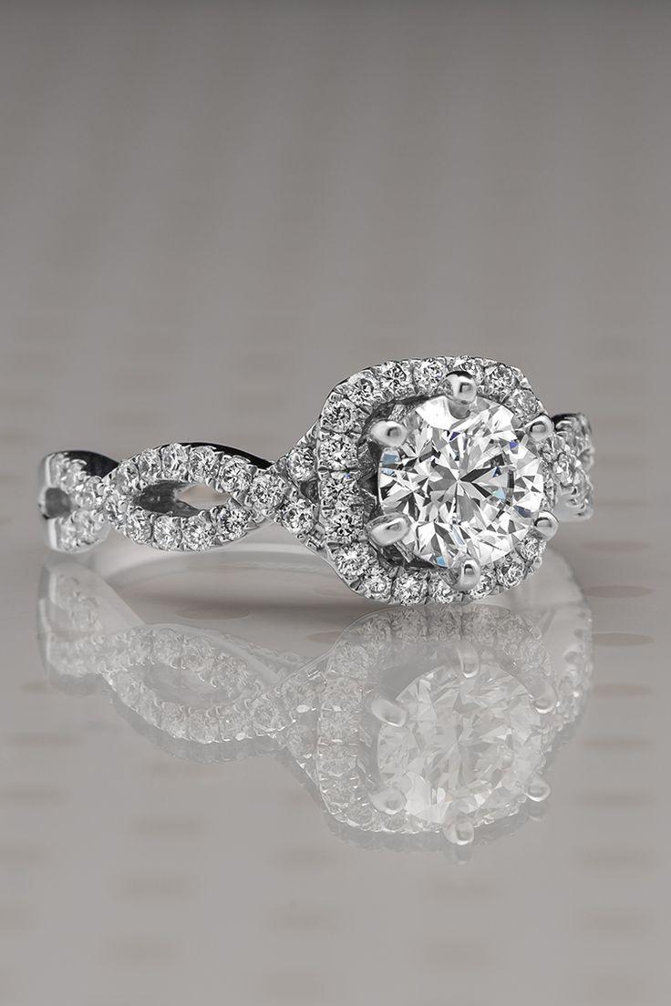 Best 20 Infinity Ring Engagement Ideas On Pinterest