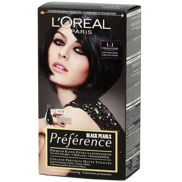 Loreal Preference 11 Cool Black Pearl Httpswww