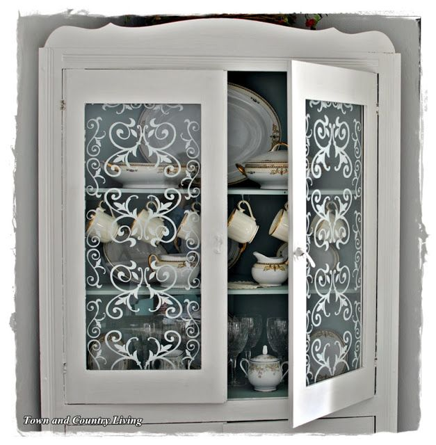 104 Best Images About Stenciled Glass On Pinterest