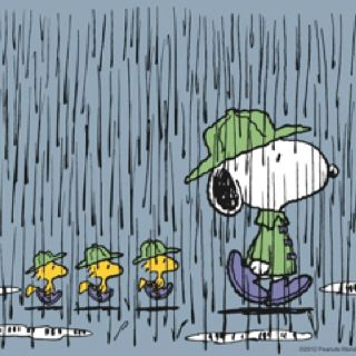 Image result for snoopy bad weather