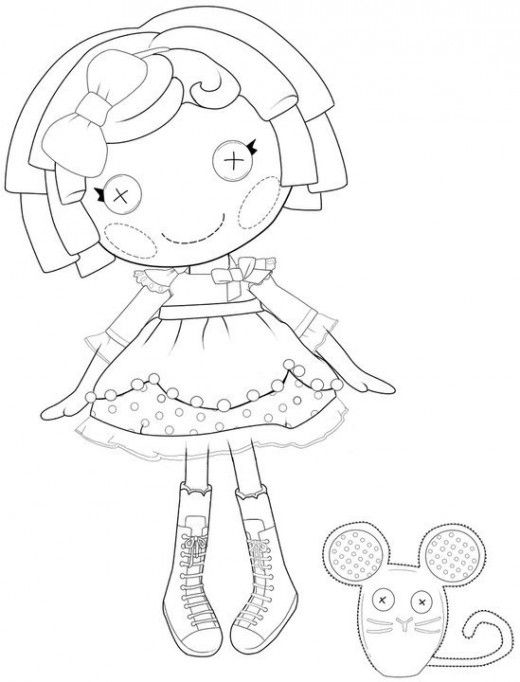 Lalaloopsy Coloring Pages Mittens. my mittens coloring pages my ...