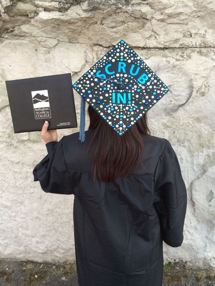 Graduation Cap I did for my Daughter Miranda BTC graduate