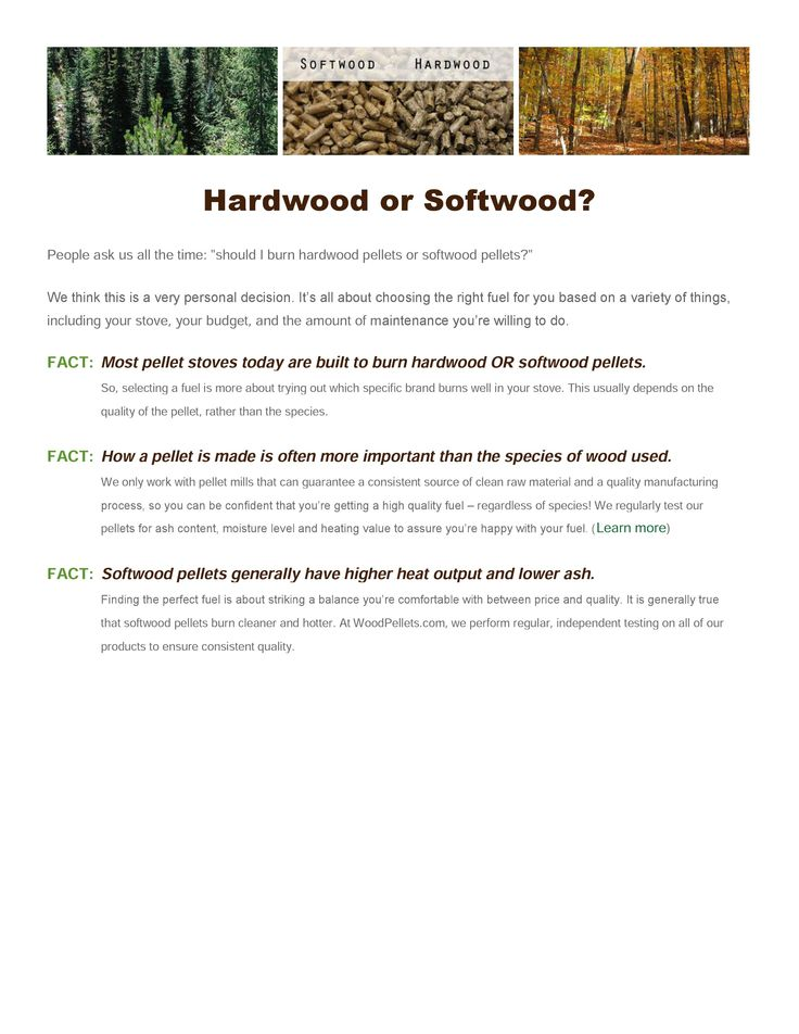 Hardwood Pellets Vs Softwood Pellets Find Out Which Is