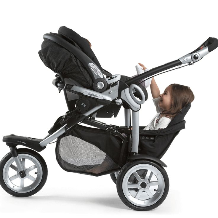 Peg Perego 2010 GT3 for Two All Terrain Double Stroller in