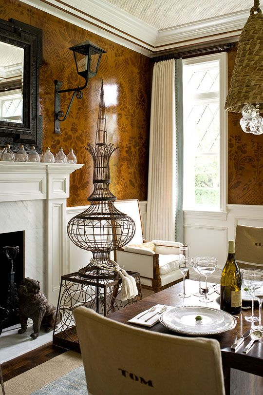 56 Best Images About Wall Treatments Amp Wallpaper On Pinterest Mirror Walls Textured Walls And