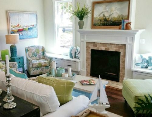 279 Best Images About Coastal Living Rooms On Pinterest