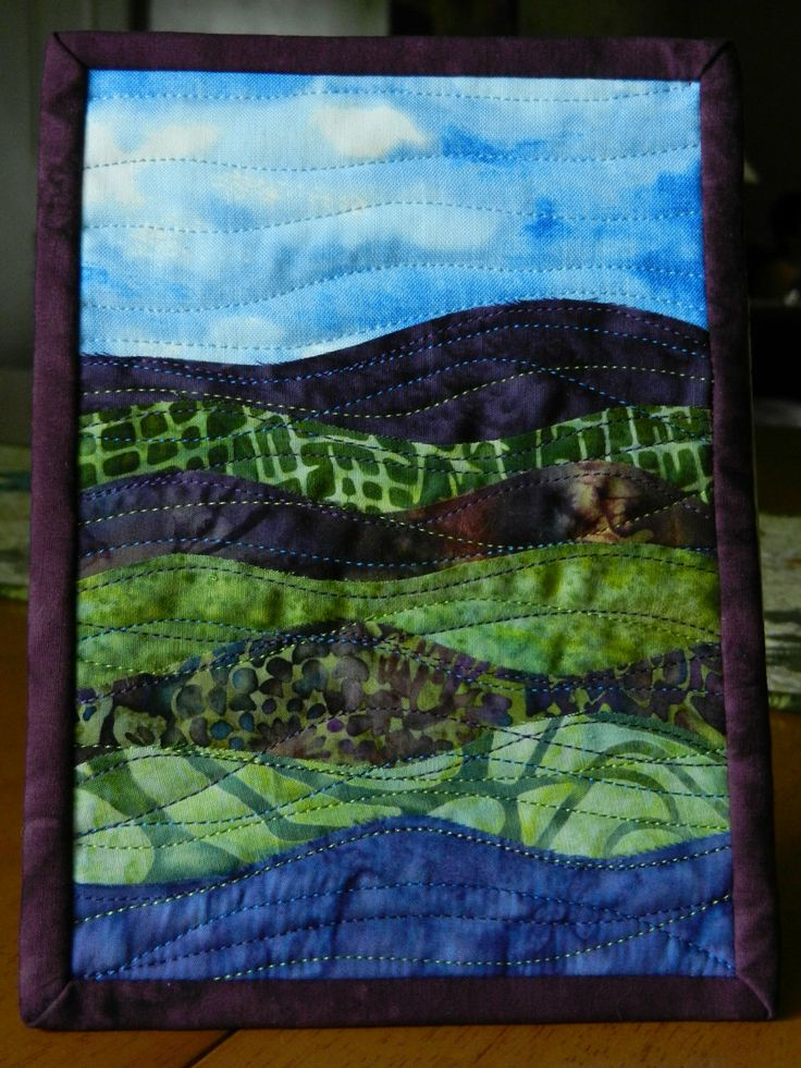 17 Best Images About Postcard And Mini Quilts On Pinterest