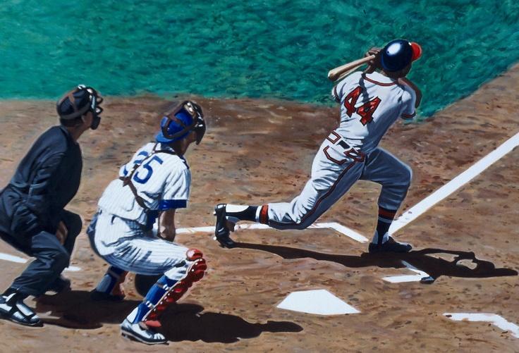 Hank Aaron 1994 Baseball Legends