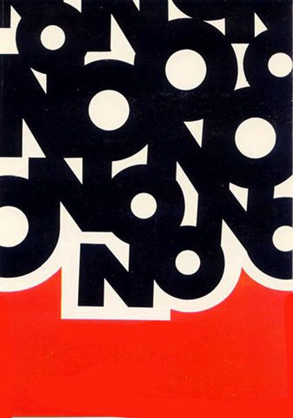 political poster – designer unknown (1969)