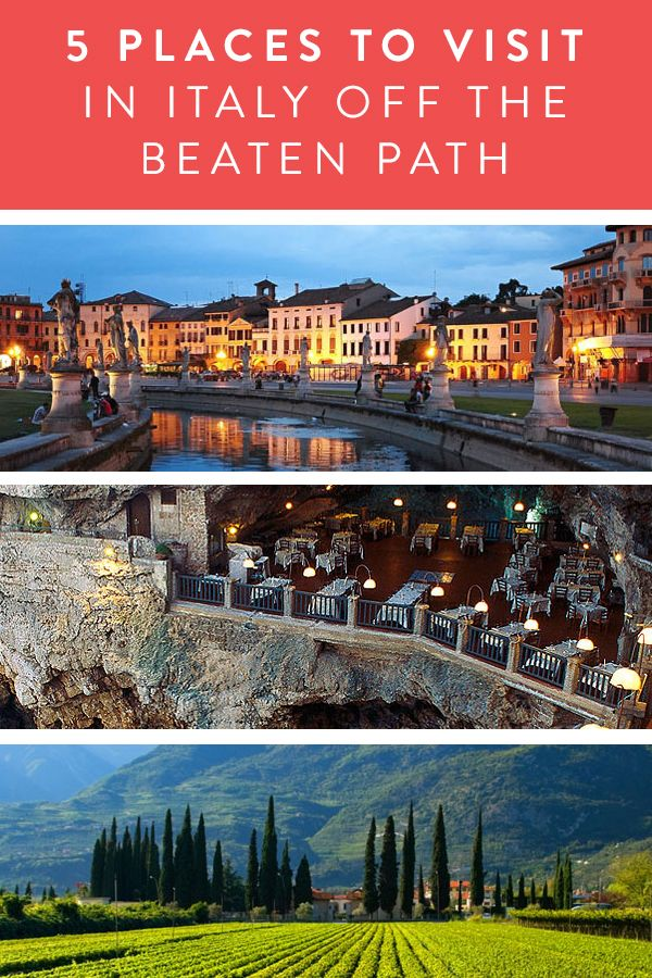 Italy Off the Beaten Path. More sights to see on your next European trip, see some more of Italy.