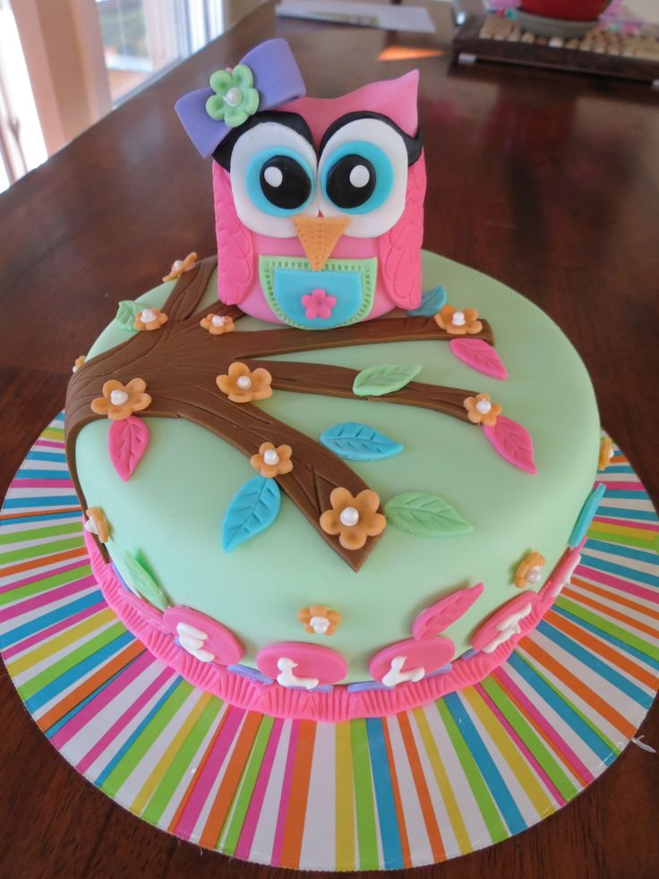Awe Inspiring Easy Homemade Owl Cake The Cake Boutique Funny Birthday Cards Online Fluifree Goldxyz