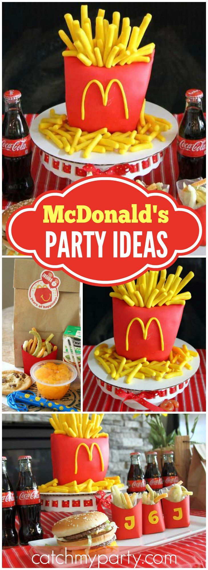 "McDonald's / Birthday ""McDonald's 6th Birthday"