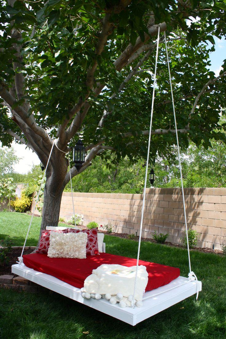 DIY Tree Swing Garden Pinterest Tree swings and Yards