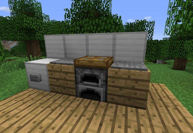 How To Make Furniture In Minecraft Minecraft Minecraft Furniture And Furniture