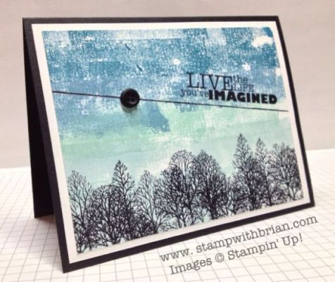 Lovely as a Tree, Really Good Greetings, Stampin' Up!, Brian King