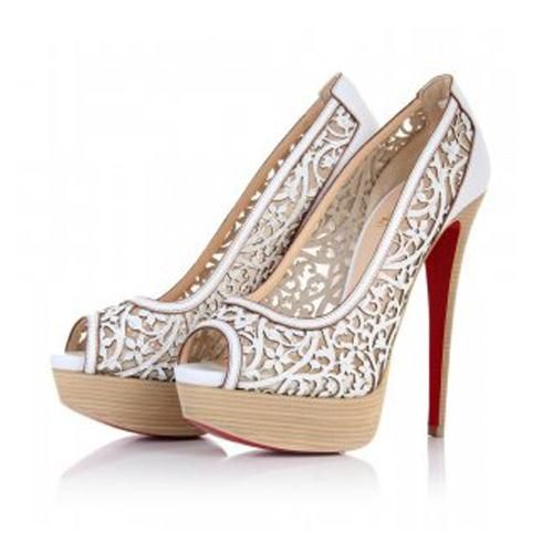 Gorgeous shoes! Whats your favorite style of heel? Check out #high heels #fashion #red bottoms
