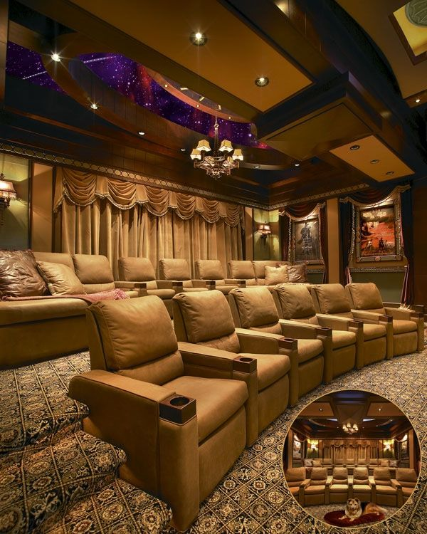 56 Best Images About House Movie Theatres Bowling Alleys